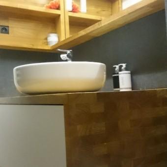 Blat łazienkowy na wymiar